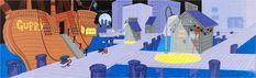 walt disney cartoon backdrops | 26 Stunning Cartoon Backdrops That Deserve To Be Hung on a Wall