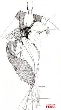-Gianfranco Ferré- 'Collections Woman Prêt-à-Porter (Fall / Winter.1992)