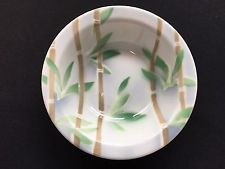 1978 Syracuse China Airbrush Stencil Cereal Bowl w/ Tropical Bamboo & Leaves Dining Services, Syracuse China, Bamboo Leaves, Cereal Bowls, Airbrush, Baby Items, Stencils, Tropical, Restaurant