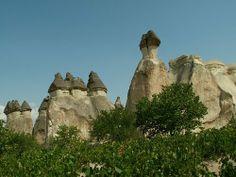 rocas fungiformes