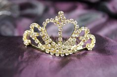 Beautiful Gold Bridal Wedding Tiara Crown with Crystal Heart DH12109 -- You can get additional details at the image link.