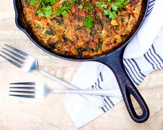 Hearty Chipotle Spinach Frittata