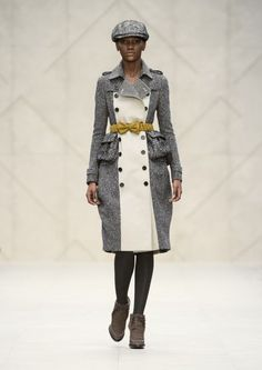 London Fashion Week: Burberry Prorsum mixt Tradition mit Moderne