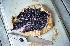 """""""Blueberry Brie Galette"""" — The Official Site of Chef Georgia Pellegrini 