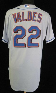 528e414eafd 2010 New York Mets Raul Valdes  22 Game Used Grey Road Jersey - Game Used  MLB Jerseys by Sports Memorabilia.  184.52. 2010 New York Mets Raul Valdes   22 ...