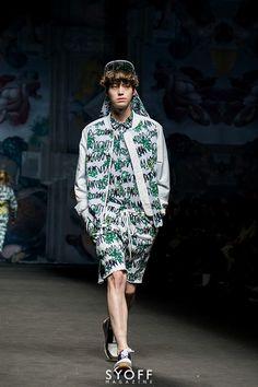 141021 AHN JAEHYUN Catwalks in Seoul Fashion Week 2015 S/S Steve J & Yoni P