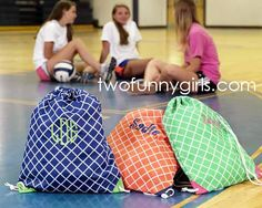 Pink Chevron Monogram Backpack | Monogrammed Backpacks and School ...