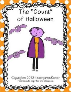 "The ""Count"" of Halloween - Numbers 1-10 Craftivity"
