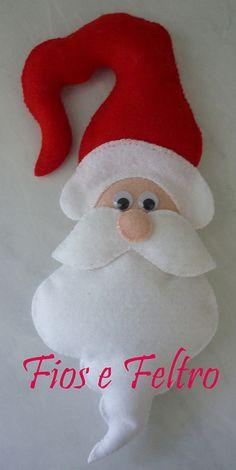 Papai Noel enfeite de maçaneta | Flickr – Compartilhamento de fotos!