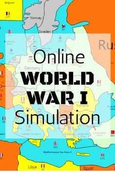 Online WW1 Simulation Game