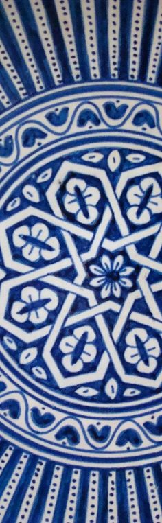 Moroccan pottery, photo by Kim Poitrowski