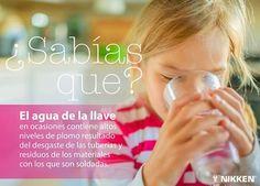 #SaludPR #Prevención #Autocuidado El agua que estás consumiendo puede contener altos niveles de plomo --->http://bit.ly/aguayplomo
