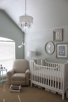 Baby G's Elegant Gender Neutral Nursery My Room - LOVE the colors in this room!.