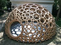 Beautiful examples of cardboard architecture - Promoting Eco Friendly Lifestyle to Save Enviornment - Ecofriend