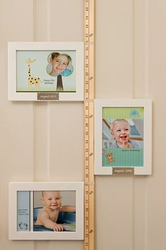 A simple growth chart project to track how your little ones grow!