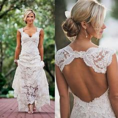 Elegant wedding dress. Ignore the soon-to-be husband, for the moment let us focus on the bride whom thinks about the wedding ceremony as the best day of her lifetime. With that simple fact, then it's definite that the bridal gown ought to be the best.