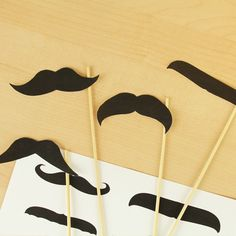 FREE Mustache Printables via Kara's Party Ideas Shop! KarasPartyIdeas.com/shop