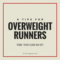 Can you run when you're overweight? Even obese? Here are 6 tips for ove… Can you run when you're overweight? Even obese? Here are 6 tips for overweight runners to help you get started safely on your running career! Running For Beginners, Running Tips, Workout For Beginners, Running Man, Trail Running, Losing Weight Tips, Best Weight Loss, Weight Loss Tips, Learn To Run