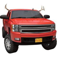 Truck Antlers — enough said