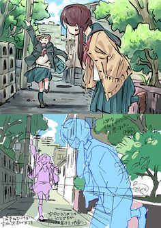 Digital Painting Tutorials, Digital Art Tutorial, Art Tutorials, Perspective Drawing Lessons, Perspective Art, Comic Drawing, Manga Drawing, Art Sketches, Art Drawings