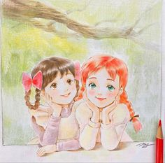 Anne Shirley, Dream Art, Kawaii Anime, Fictional Characters
