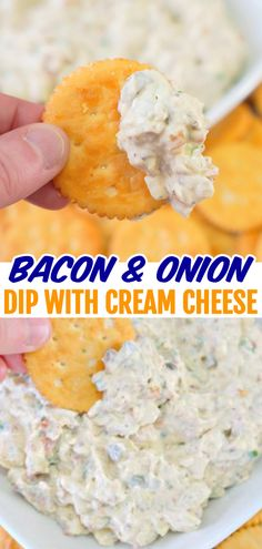 Appetizer Dips, Appetizer Recipes, Easy Dip Recipes, Cream Cheese Dips, Cream Cheese Cracker Dip, Cold Dips, Party Snacks, Easy Party Dips, Summer Party Appetizers