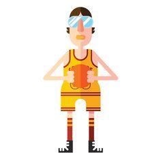 Interdimensional Basketball Association. on Behance
