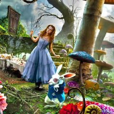 Alice in Wonderland Art Illustrations | Alice In Wonderland | iPad Wallpaper