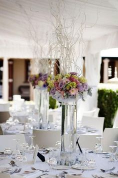Love these centrepieces Image by Calli B Photography