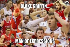 Blake Griffin ~ Los Angeles Clippers ~ Meme