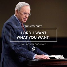 Making Wise Decisions Pastor Quotes, Prayer Quotes, Jesus Quotes, Bible Quotes, Charles Stanley Quotes, Bible Doctrine, Wise Decisions, Finding Jesus, Spiritual Meditation