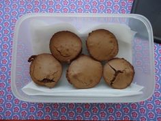 Muffins de chocolate super fáceis (Donna Hay)