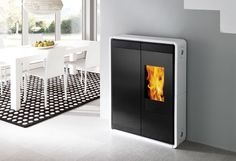 Edilkamin - Fireplaces, wood and pellet burning stoves, fireplace heating systems, thermo-stoves, pellets
