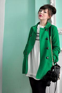 Bright Winter Coats. BW
