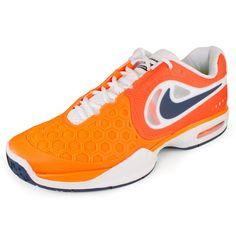 Men`s Air Max Courtballistec 4.3 Tennis Shoes Total Orange/White