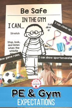 Teach your students your school's PBIS rules and expectations for the gym with these posters, student pages, real life pictures, and behavior scenarios. You have the ability to customize the posters and matching student materials to fit the rules of your school! Choose and edit the posters to best fit your school expectations and the matching student printable pages will automatically be populated to match your edited poster! Classroom Expectations, Positive Behavior, Life Pictures, Classroom Management, Teacher Resources, Real Life, Students, Printable, Positivity