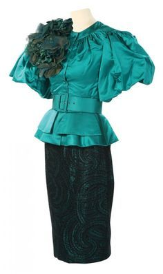 Costume designed by Judianna Makovsky for Elizabeth Banks as Effie Trinket in The Hunger Games (2012)