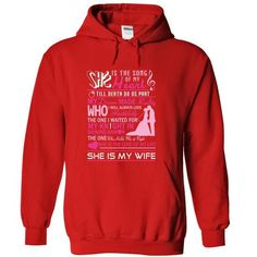 She is the song of my heart T Shirts, Hoodies. Get it now ==► https://www.sunfrog.com/LifeStyle/She-is-the-song-of-my-heart-Red-19440559-Hoodie.html?57074 $39