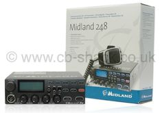 Midland 248 CB Radio From The CB Shack