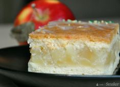 Jabłecznik na biszkopcie Polish Recipes, New Recipes, Cake Recipes, Cooking Recipes, Polish Food, Fun Desserts, Awesome Desserts, Pie Dessert, Apple Cake