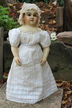 wax-over doll