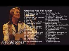 GEORGE JONES - Greates Hits Full Album | Best songs of George Jones - YouTube.