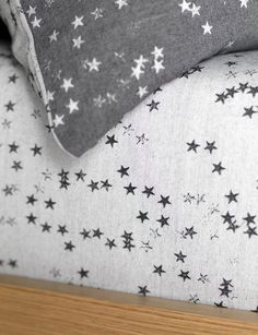 cotton bedding set for children. A grey charcoal bedding set in single and double sizes with a reversible stars design. Buy online today at Secret Linen Store. Linen Pillows, Linen Bedding, Bed Linens, Childrens Bed Linen, Bed Wetting, Cotton Bedding Sets, Linen Store, Luxury Bedding Sets, Mattress Protector