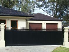 Automatic gates sliding up to 8 metres and swing up to 6 metres– intercoms voice, full colour with zoom and memory, key pads, link to your roller door, solar power systems, Prestige Fencing is the oldest family owned fencing company in adelaide and offers custom made gates using only australian made steel, we do the complete job make, install and electrical work, guaranteed