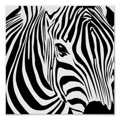 Black White Animal Zebra Wall Art Canvas Posters and Prints Canvas Painting Wall Pictures for Living Room Modern Home Decor - Decoration Fireplace Garden art ideas Home accessories Arte Zebra, Zebra Kunst, Zebra Art, Pink Zebra, Canvas Poster, Canvas Wall Art, Big Canvas, Black Canvas, Crochet Zebra Pattern