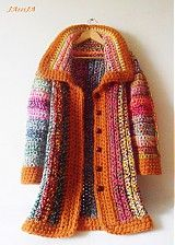 Crochet coat See other ideas and pictures from the category menu…. Faneks healthy and active life ideas Crochet Bolero, Crochet Coat, Crochet Jacket, Crochet Cardigan, Diy Crochet, Crochet Clothes, Coat Patterns, Clothing Patterns, Knooking