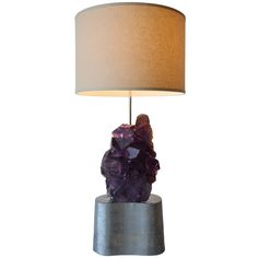 1stdibs | Carol Stupell Flourite Lamp