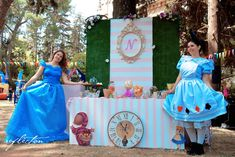 Candy bar with Alice and friend. Alice In Wonderland, Birthday Cake, Candy, Desserts, Bar, Kids, Tailgate Desserts, Young Children, Deserts