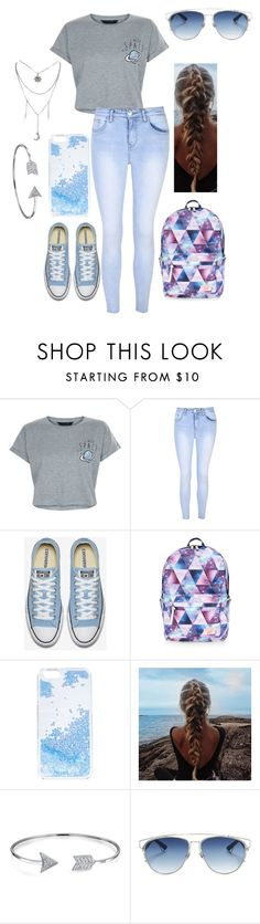"""""""Untitled #44"""" by mae1143 on Polyvore featuring New Look, Glamorous, Accessorize, Skinnydip, Bling Jewelry and Christian Dior"""