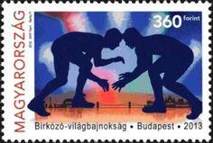 #4291 Hungary - World Wrestling Championships, Budapest (MNH)